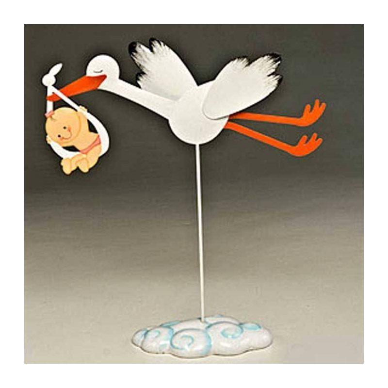 Figura Cigueña Volando