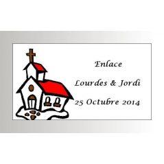Tarjeta Iglesia