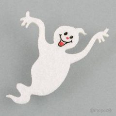 Adhesivos Fieltro Fantasmas