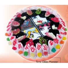 Tarta Oblea Monster
