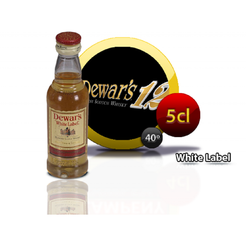 Whisky White Label 5 cl.