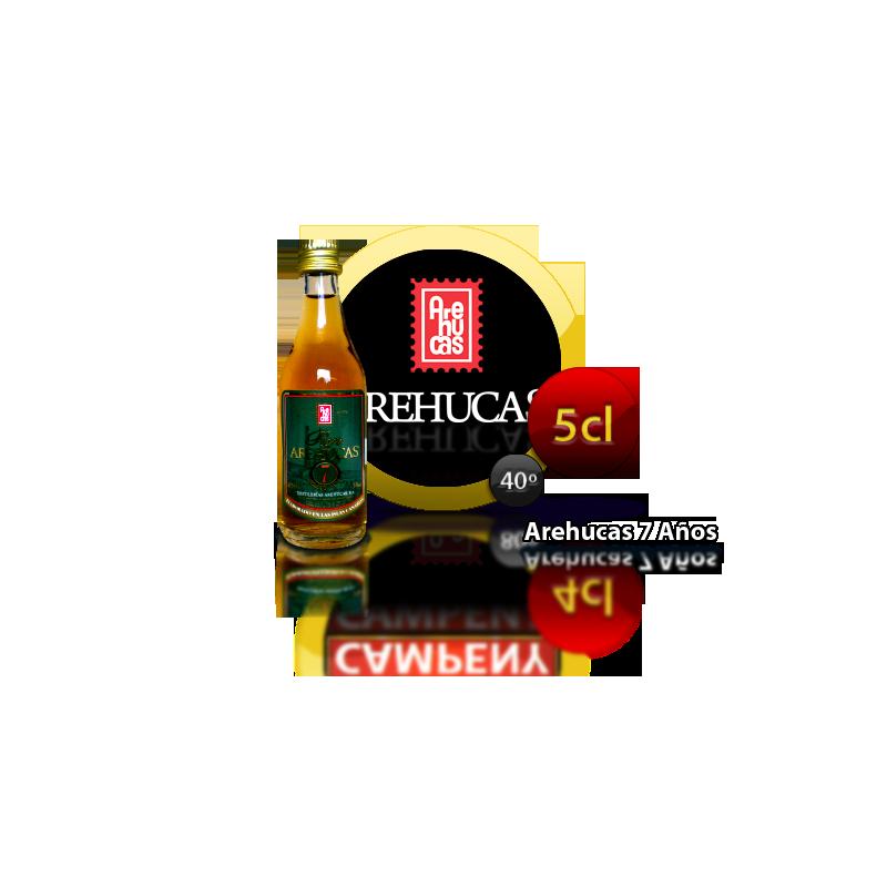 Ron Miel Arehucas 7 años 5 Cl