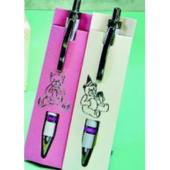 Bolígrafo en Funda Niña