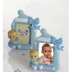 Portafoto Bebé Niño Celeste Bracitos