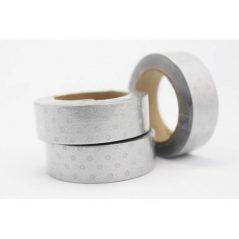 Cinta Adhesiva Washi Tape Gris