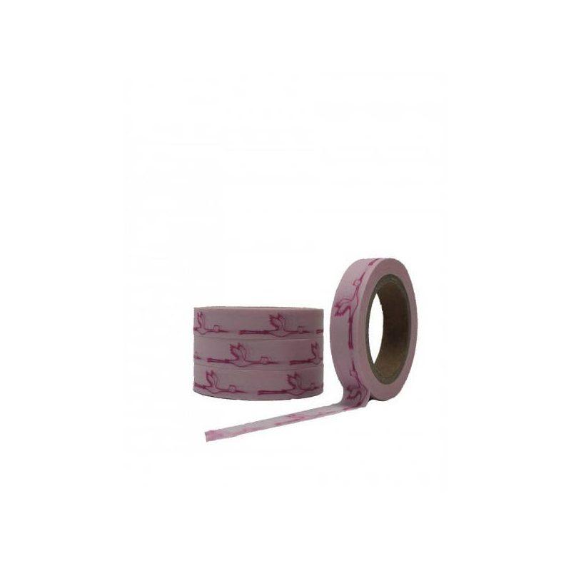 Cinta Adhesiva Washi Tape Cigueña