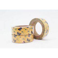 Cinta Adhesiva Washi Tape Mariposas