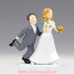 Figura Pastel Nos Casamos Si o Si