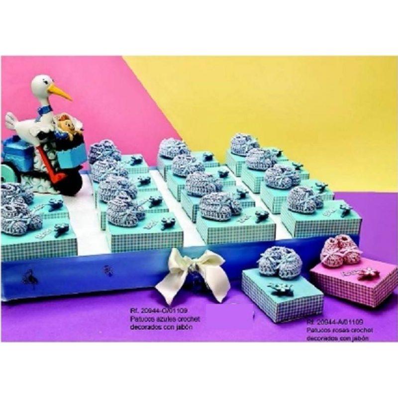 Patucos Crochet con Jabón