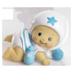 Hucha Bebe Niño Pijama Blanco