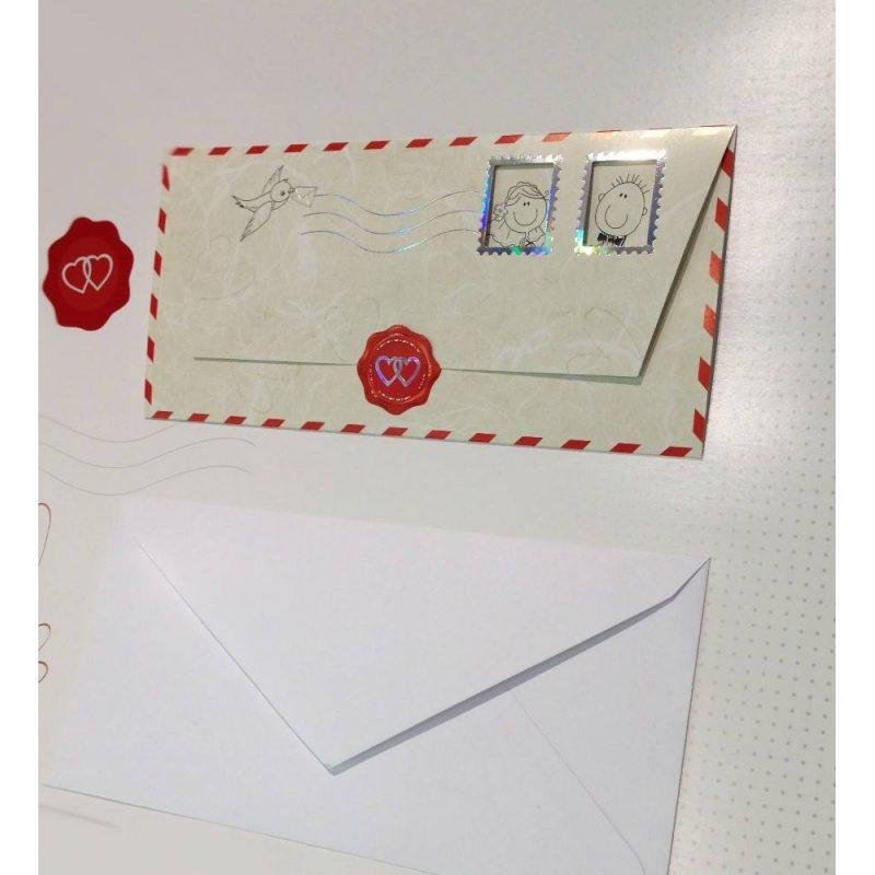 Invitación Carta Correo Aereo