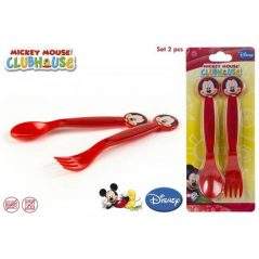 Set de 2 Cubiertos Mickey
