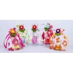 Frasco Perfume Dor en Bolsa Organza y Pink Margarita