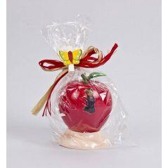 Palillero Manzana Roja Niña Comunión