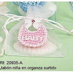 Bolsa con Jabón Babero Rosa