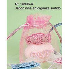 Bolsa con Jabón Caramelo Rosa