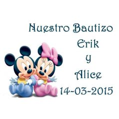 Tarjeta Mickey Mellizos
