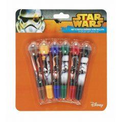Set Rotuladores con Sellito Star Wars