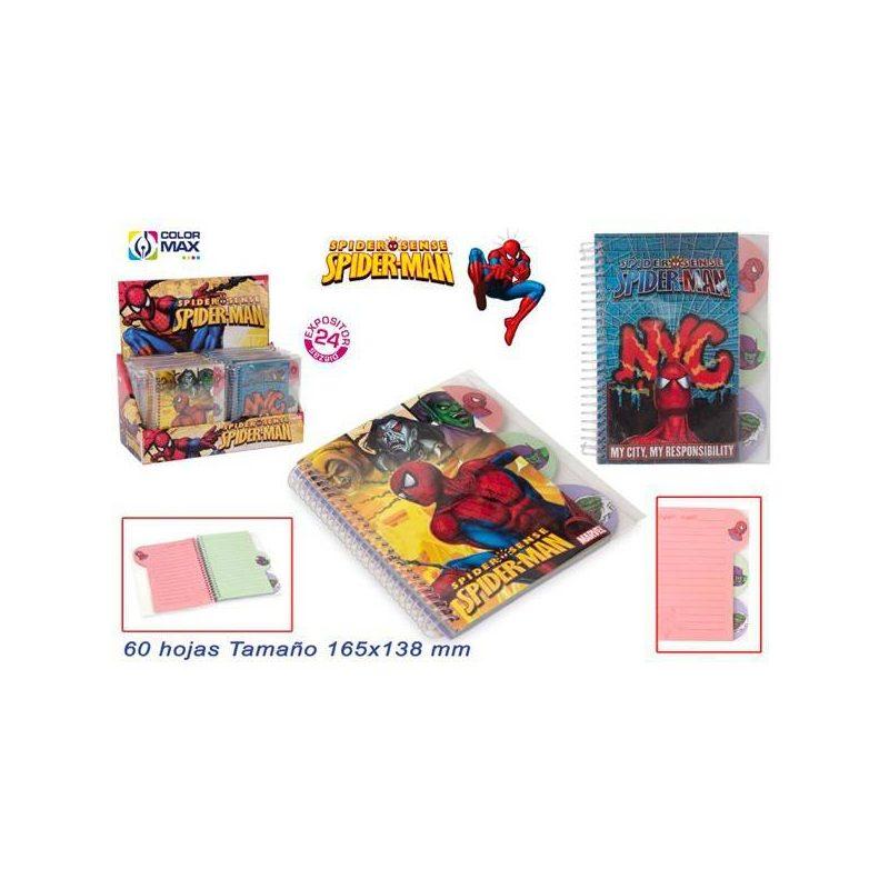Libreta Spiderman