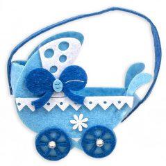 Bolsa Carrito Bebé Azul