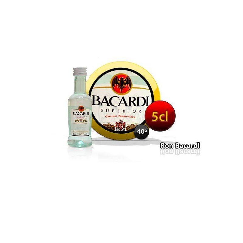 RON BACARDI 5 CL