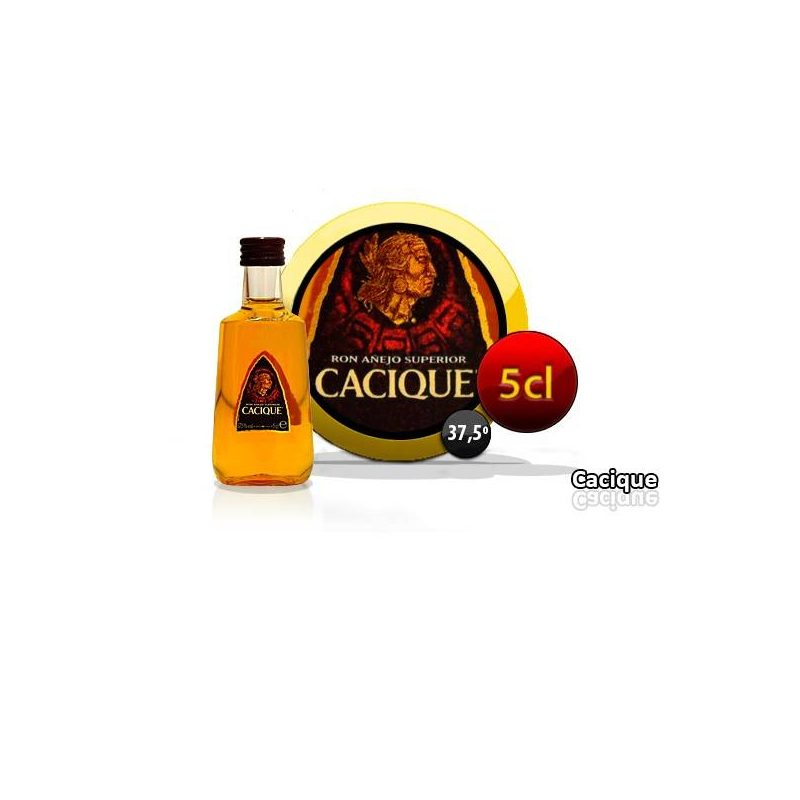 RON CACIQUE 5 CL