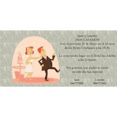 INVITACION NOVIO AGARRADO