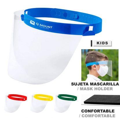 Pantalla Facial Niño Protección Higiénica