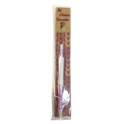 Boli Comunión Niña Kraft Bolígrafos para Comunión