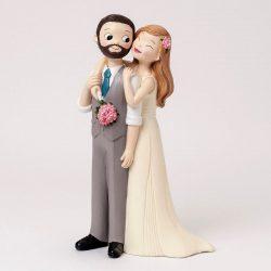 Figura Pastel Novio Barba y Chaleco Figuras para Tartas de Boda 18,33 €
