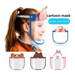 Pantalla Facial Infantil Animales