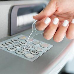 Llavero Plástico Anti contacto Protección Higiénica
