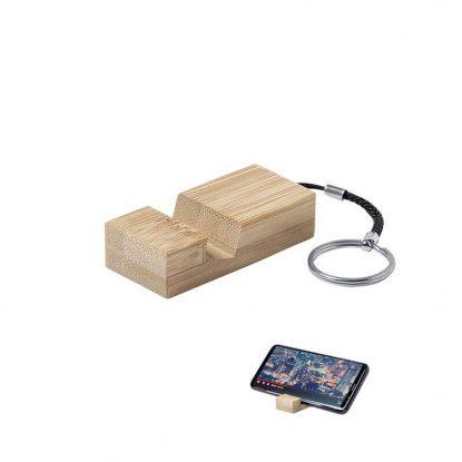 Llavero Soporte Móvil Bambú Detalles Comunión para Hombres1,10 €