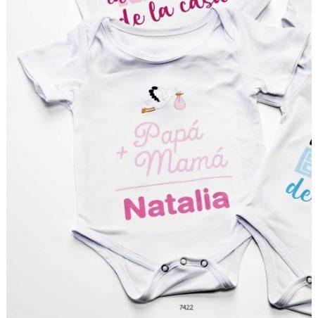 Body Bebé Papá y Mamá Bautizo Niña Regalos para Padrinos de Bautizo13,60 €