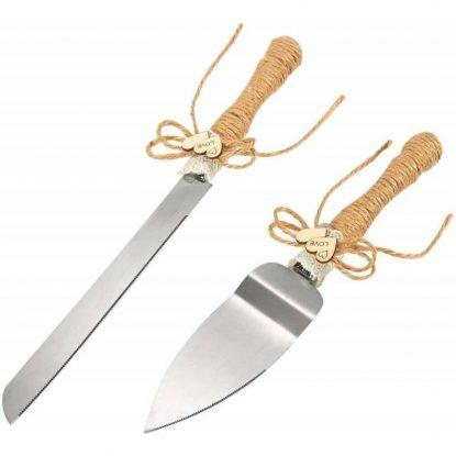 Set de Cuchillo y Pala Kraft Boda Complementos de Boda y Novia13,65 €