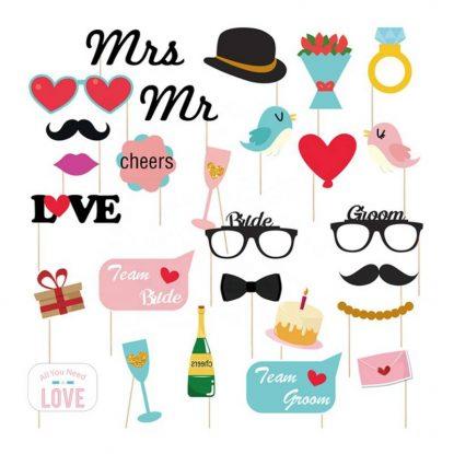 Photocall Mr & Mrs Detalles de Boda Baratos5,64 €