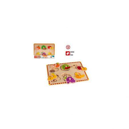 Puzzle de Madera Frutas Detalles para Niñ@s8,37 €
