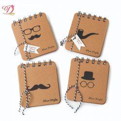 Cuaderno Espiral Men Style (Lote 4 Unidades) Detalles Comunión para Hombres5,51 €