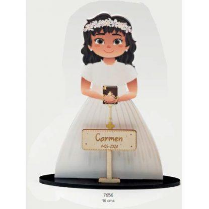 Cake Topper Niña Libro Comunión Figuras Tartas para Comunión7,35 €