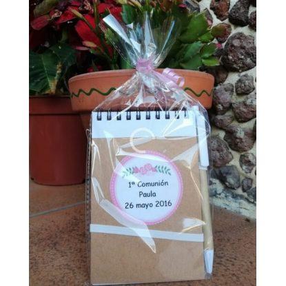 Libreta Comunión Niña Detalles de Comunion para Mujeres1,20 €