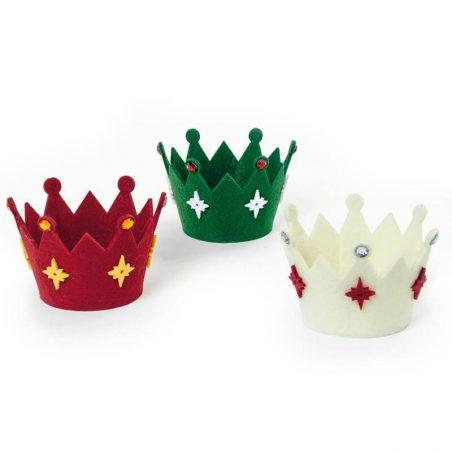 Coronas Navideñas (Pack 3)