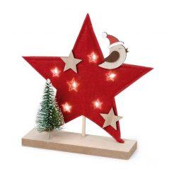 Estrella Navideña Decorativa