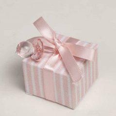 Caja Rosa Bautizos Inicio