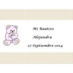 Tarjeta Osita Tarjetas de Bautizo Gratis0,00 €