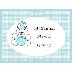 Tarjeta Osito Tarjetas de Bautizo Gratis0,00 €