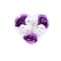 Rosas de Jabón en Corazón