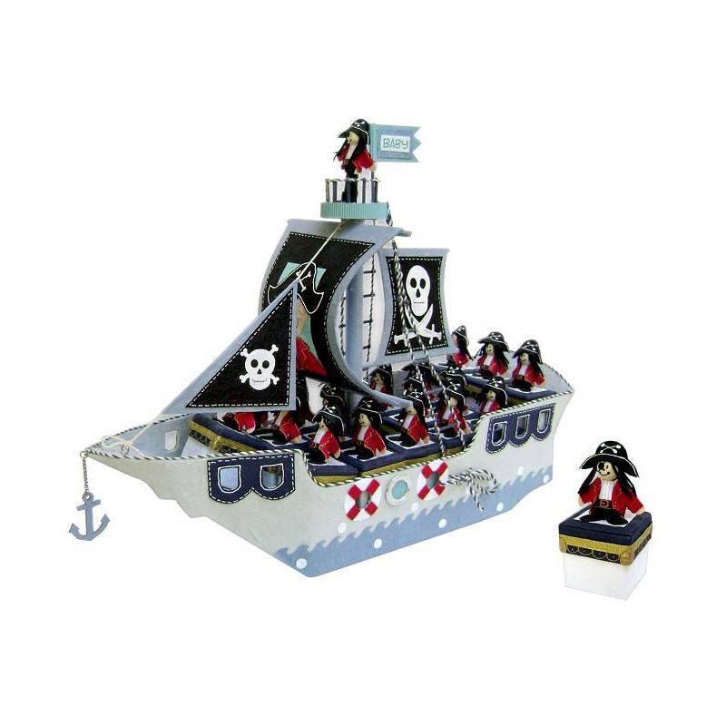 Expositor Barco Pirata