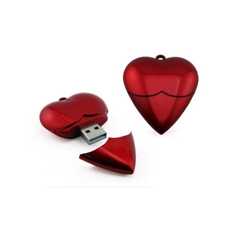 Memoria Usb Corazón 1GB Inicio