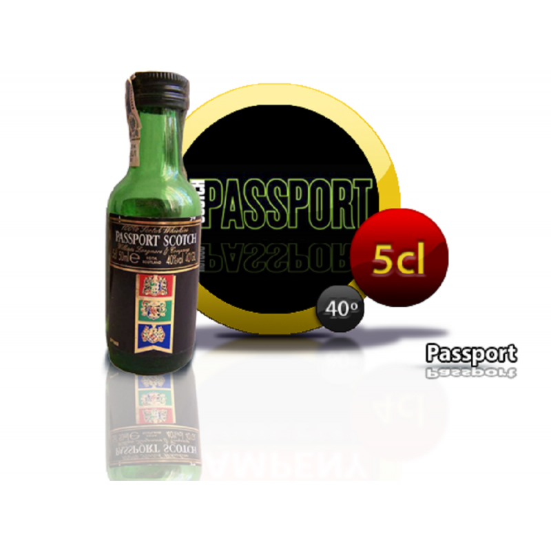 Whisky Passport 5 cl. Inicio