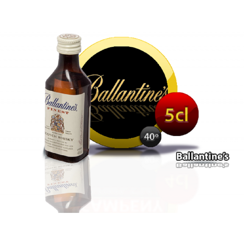 Whisky Ballantines´s 5 cl. Inicio